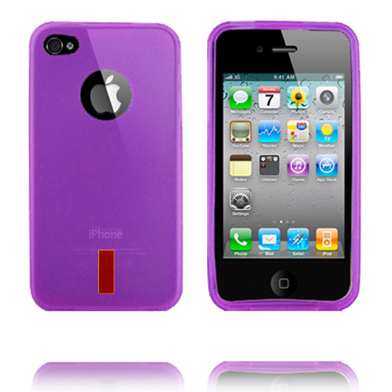 InCover (Lila) iPhone 4S Skal