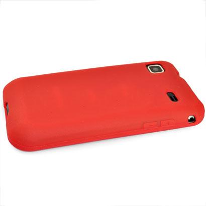 Mjukskal (Röd) Samsung Galaxy S Skal