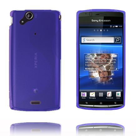 S-Line (Blå) Sony Ericsson Xperia Arc Skal