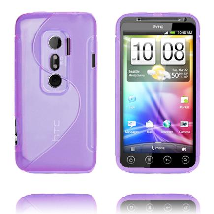 S-Line (Lila) HTC Evo 3D Skal