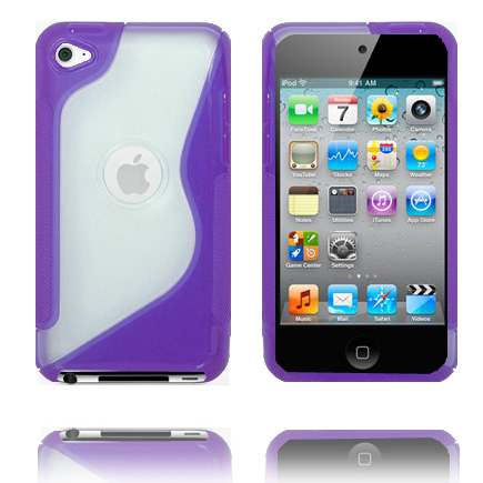 S-Line T4 (Lila) iPod Touch 4 Skal