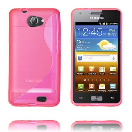 S-Line Transparent (Rosa) Samsung Galaxy Z Skal