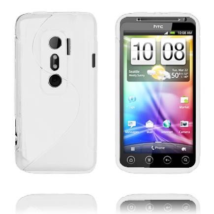 S-Line (Vit) HTC Evo 3D Skal