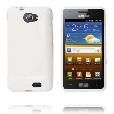 S-Line (Vit) Samsung Galaxy Z Skal