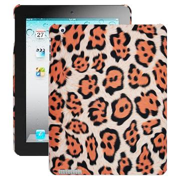 Safari Fashion (Orange Leopard) iPad 2 Skal