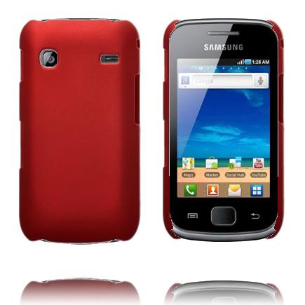 Hårdskal (Röd) Samsung Galaxy Gio Skal