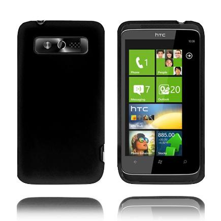 Mjukskal (Svart) HTC 7 Trophy Skal