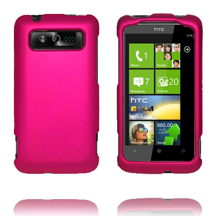 SlimCase Snap-On (Rosa) HTC 7 Trophy Skal