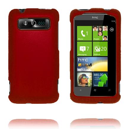 SlimCase Snap-On (Vinröd) HTC 7 Trophy Skal