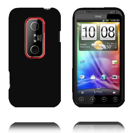 Mjukskal (Svart) HTC Evo 3D Skal