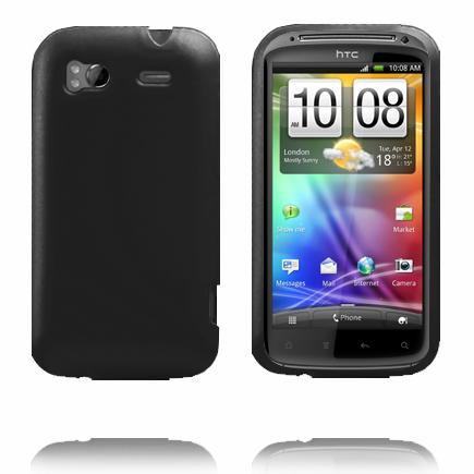 Mjukskal (Svart) HTC Sensation Silikonskal