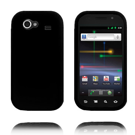 Mjukskal (Svart) Samsung Google Nexus S Skal