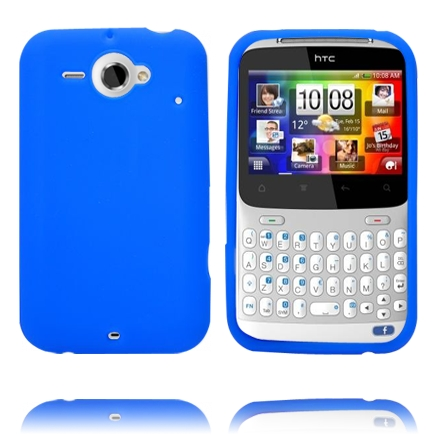 Mjukskal (Blå) HTC ChaCha Skal