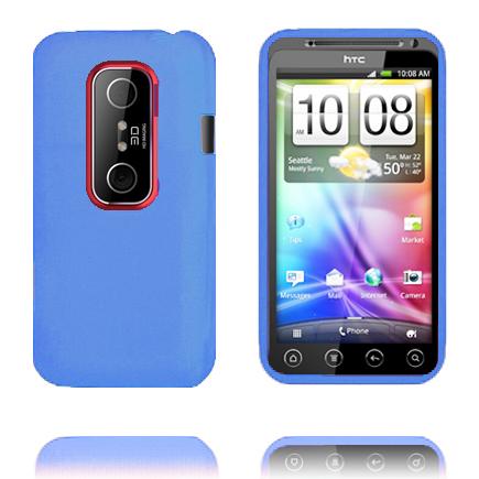 Mjukskal (Blå) HTC Evo 3D Skal