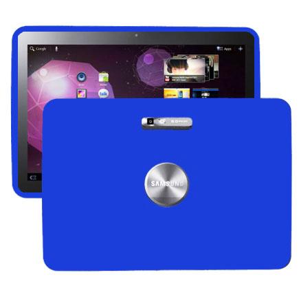 Mjukskal (Blå) Samsung Galaxy Tab 10.1 Skal (P7100)