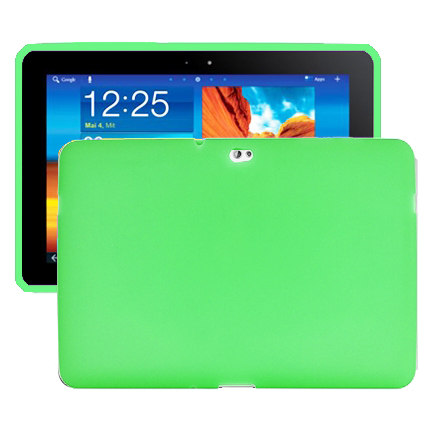 Mjukskal (Grön) Samsung Galaxy Tab 10.1 Skal (P7500)