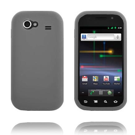 Mjukskal (Grå) Samsung Google Nexus S Skal