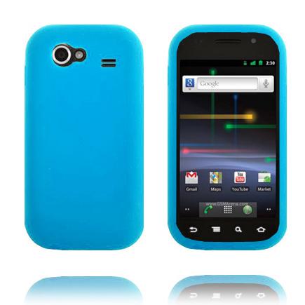 Mjukskal (Ljusblå) Samsung Google Nexus S Skal
