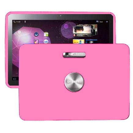 Mjukskal (Ljusrosa) Samsung Galaxy Tab 10.1 Skal (P7100)
