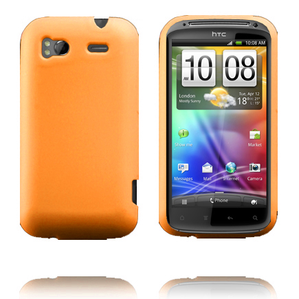 Mjukskal (Orange) HTC Sensation Silikonskal