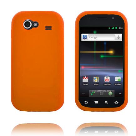 Mjukskal (Orange) Samsung Google Nexus S Skal