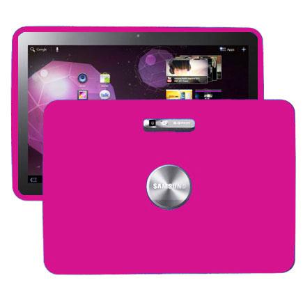 Mjukskal (Rosa) Samsung Galaxy Tab 10.1 Skal (P7100)