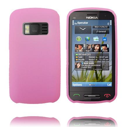 Mjukskal (Rosa) Nokia C6-01 Skal