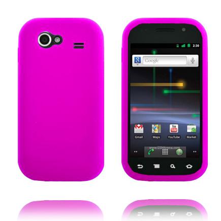 Mjukskal (Rosa) Samsung Google Nexus S Skal