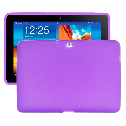 Mjukskal (Lila) Samsung Galaxy Tab 10.1 Skal (P7500)