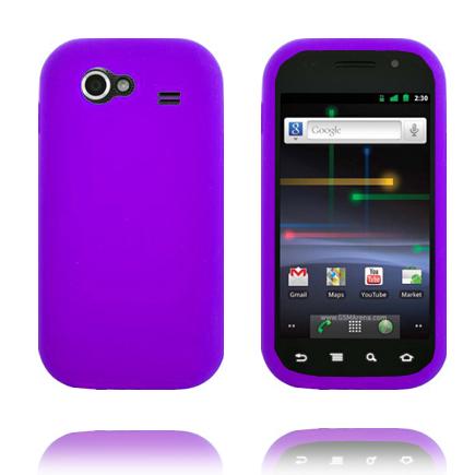 Mjukskal (Lila) Samsung Google Nexus S Skal