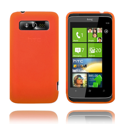 Mjukskal (Orange) HTC 7 Trophy Skal