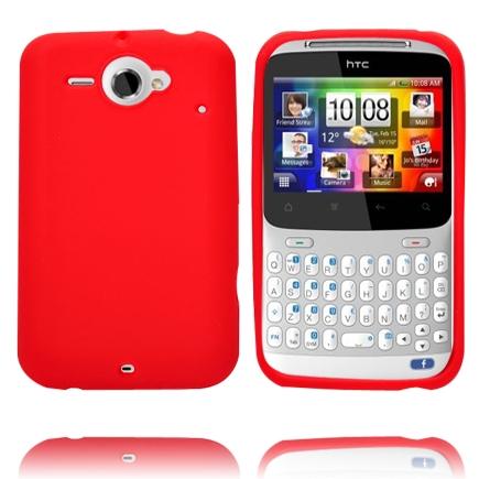 Mjukskal (Röd) HTC ChaCha Silikonskal
