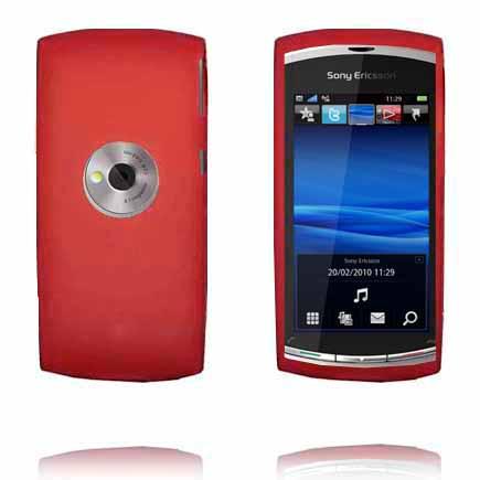 Mjukskal (Röd) Sony Ericsson Vivaz Skal