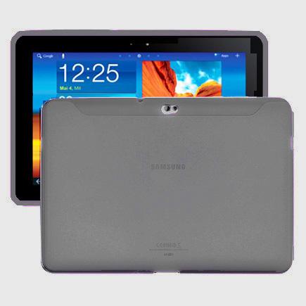 Mjukskal (Grå Transperant) Samsung Galaxy Tab 10.1 Skal (P7500)