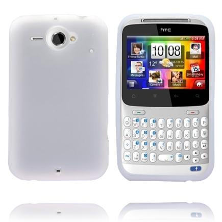 Mjukskal (Vit) HTC ChaCha Skal
