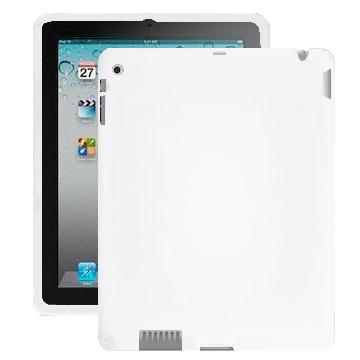 Impact (Vit) iPad 2 Silikonskal