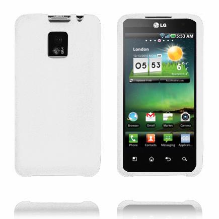 Mjukskal (Vit) LG Optimus 2X Skal