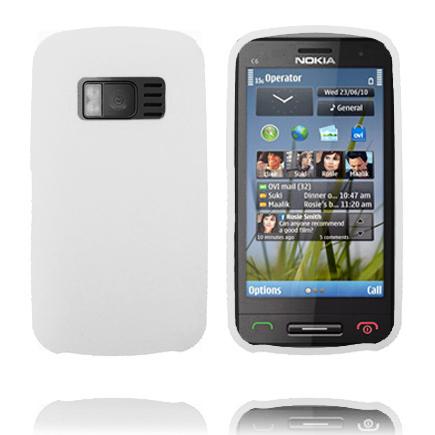 Mjukskal (Vit) Nokia C6-01 Skal