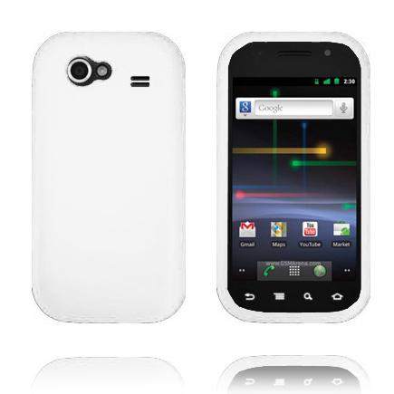 Mjukskal (Vit) Samsung Google Nexus S Skal
