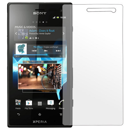 Sony Xperia Acro S Displayskydd (Spegel)