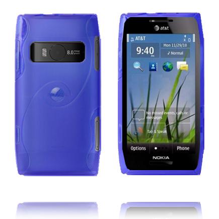 Storm (Blå) Nokia X7 Skal