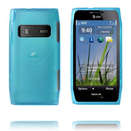 Storm (Ljusblå) Nokia X7 Skal