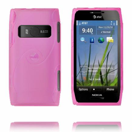 Storm (Rosa) Nokia X7 Skal