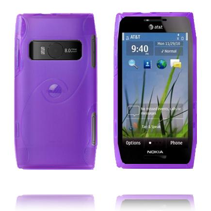 Storm (Lila) Nokia X7 Skal