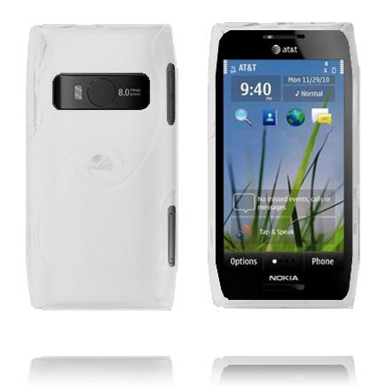 Storm (Vit) Nokia X7 Skal
