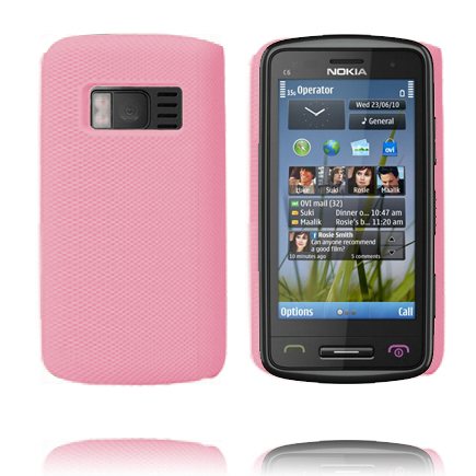 Supreme (Ljusrosa) Nokia C6-01 Skal