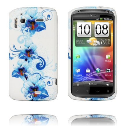 Symphony (Blå Trädgård) HTC Sensation Silikonskal
