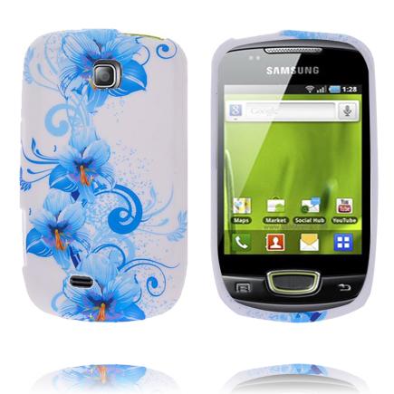 Symphony (Blå Trädgård) Samsung Galaxy Mini Silikonskal