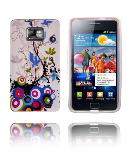 Symphony (Blå Trädgård) Samsung Galaxy S2 Silikonskal