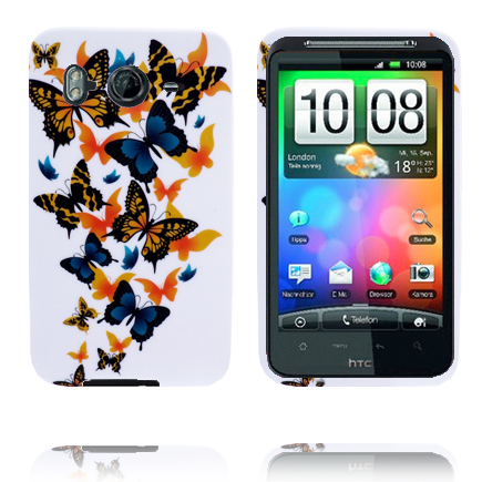 Symphony (Blandade Fjärilar) HTC Desire HD Skal